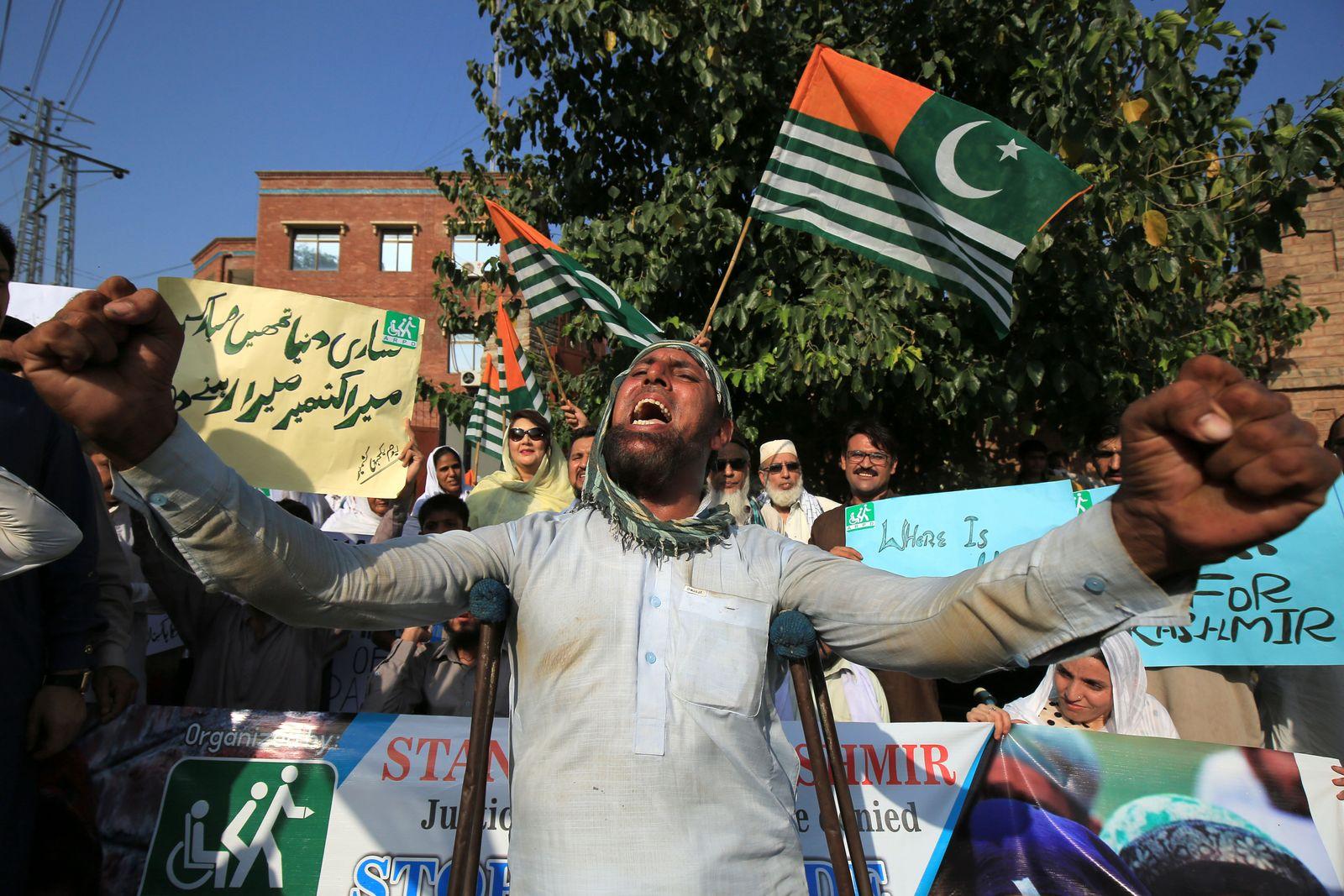 Pakisten Kaschmir Proteste