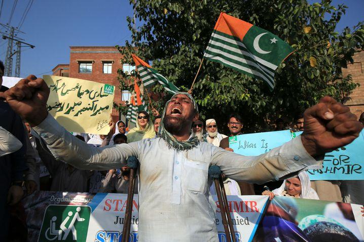 """Antiindische Proteste in Pakistan: Peking und Neu-Delhi verbitten sich Einmischung in """"innere Angelegenheiten"""""""