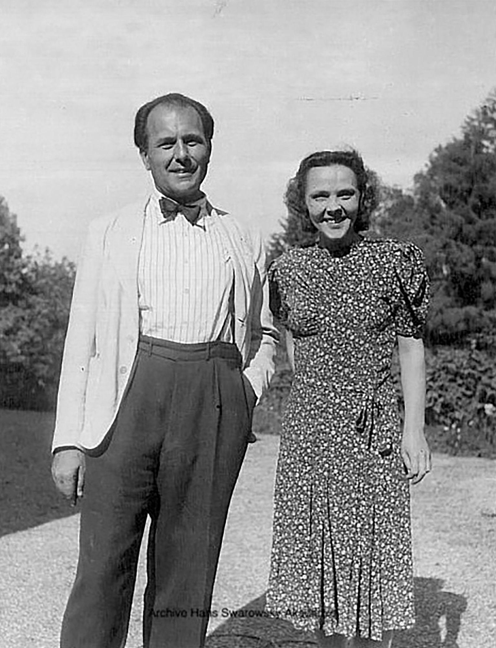 Hans Swarowsky - Poecking 45 mit Maria