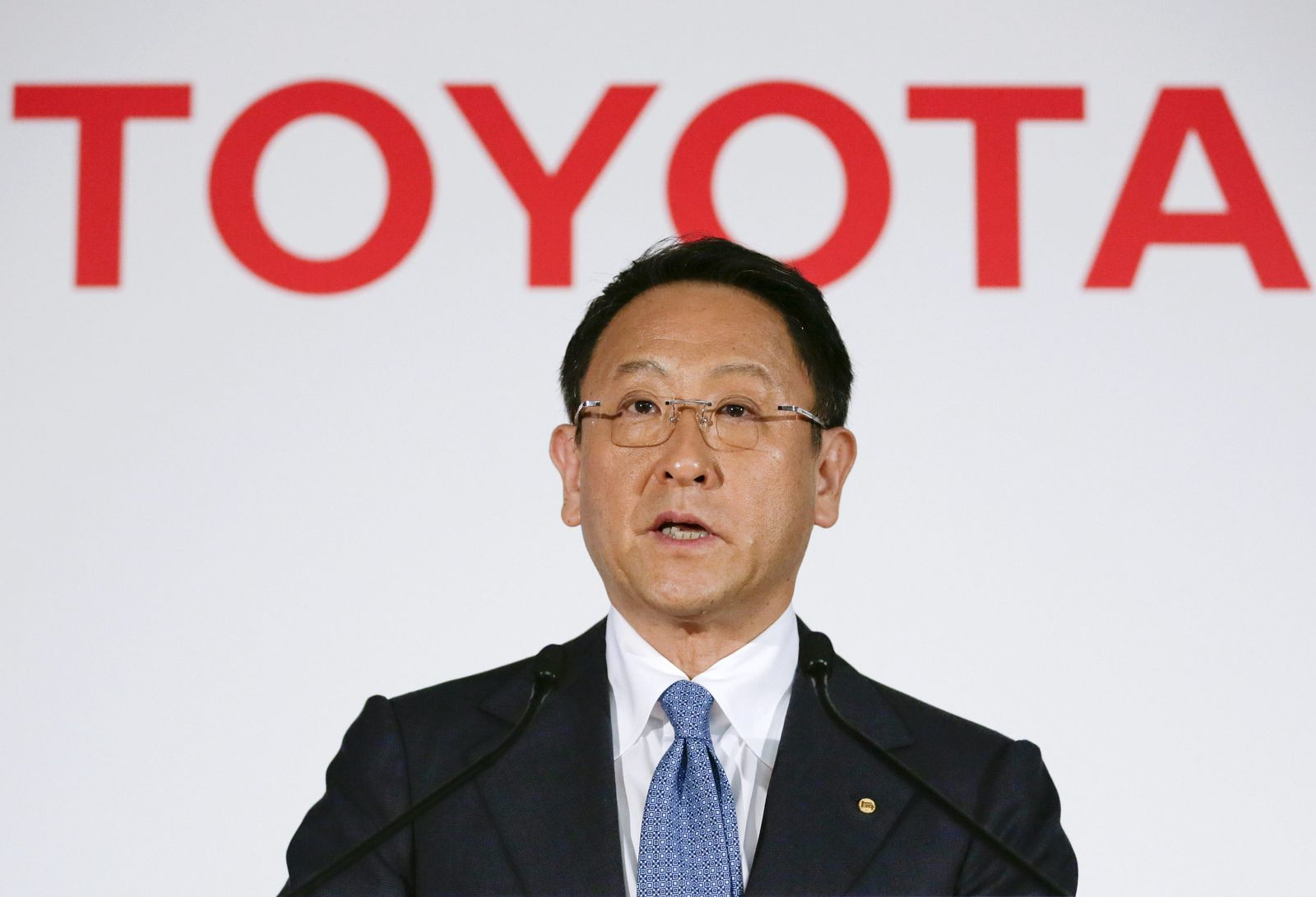 Toyota Motor announces its financial result of 2014 fiscal year