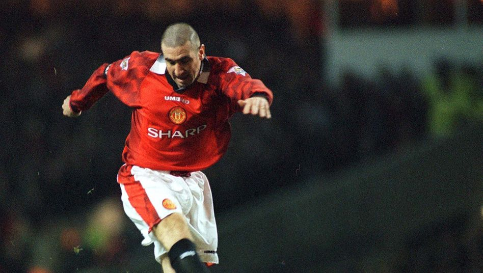 Eric Cantona spielte für Manchester United