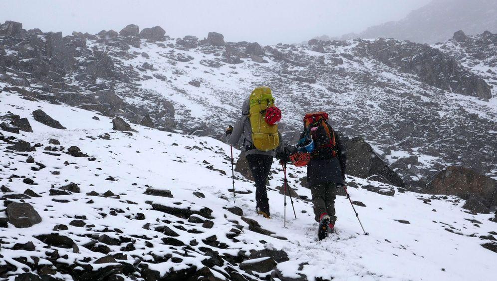 Blog Michael Martin: Im Schneesturm am Chimborazo