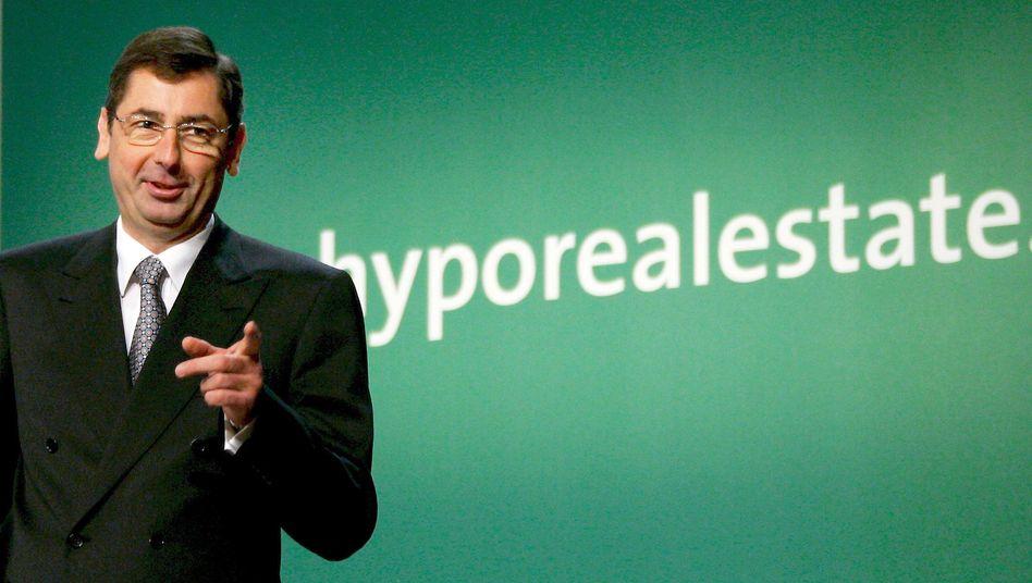 Hypo-Real-Estate-Chef Georg Funke im Jahr 2007