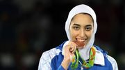 Irans Olympia-Heldin flieht aus ihrer Heimat