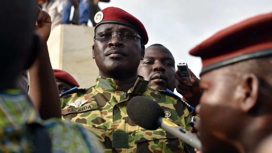 """Isaac Yacouba Zida: Erklärung von Militärchef """"unwirksam"""""""