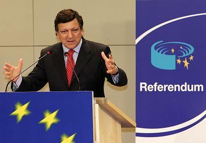 """EU-Kommissionspräsident Barroso: """"Wir sind zuversichtlich"""""""