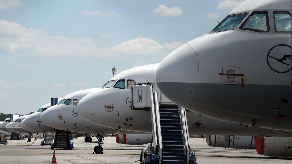 Lufthansa-Maschinen am Drehkreuz München: entscheidend fürs Geschäftsmodell