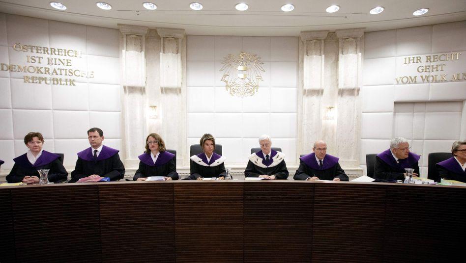 Richter des österreichischen Verfassungsgerichtshofs
