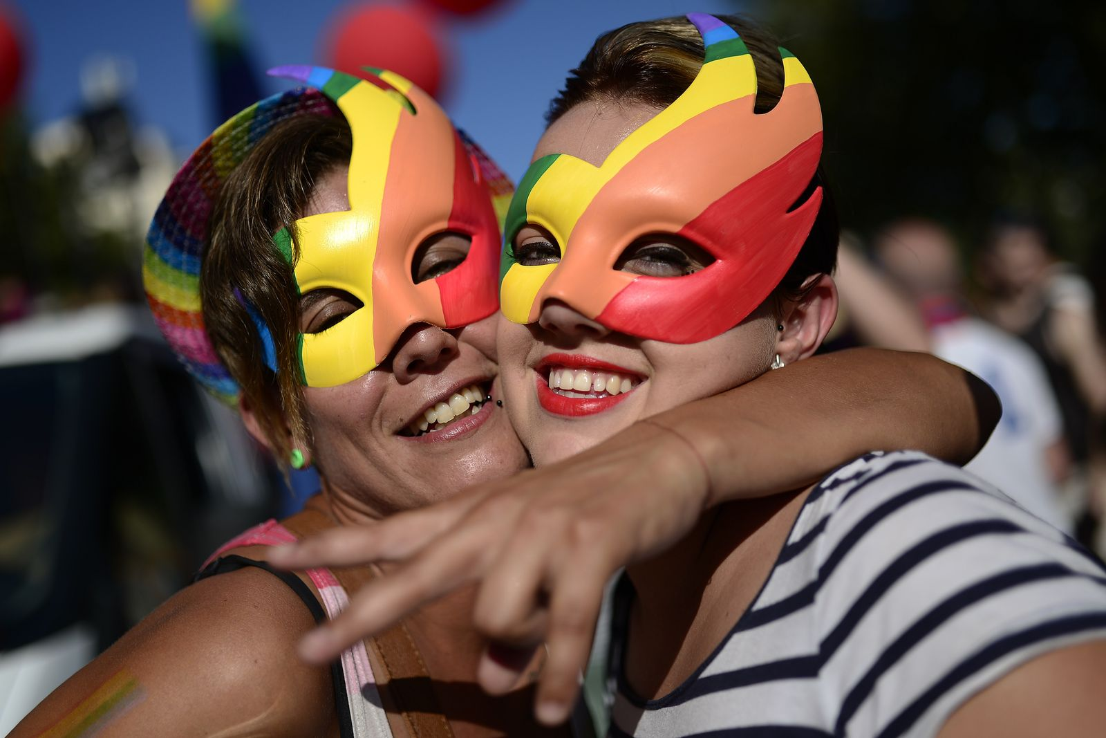 Gay and Lesbian Pride parade in Barcelona