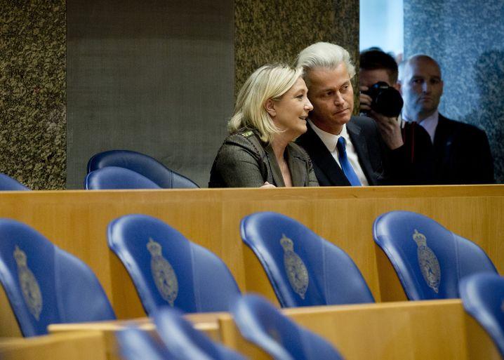 Marine Le Pen, Geert Wilders: Rechtsgerichtete Gruppen wollen Kräfte bündeln