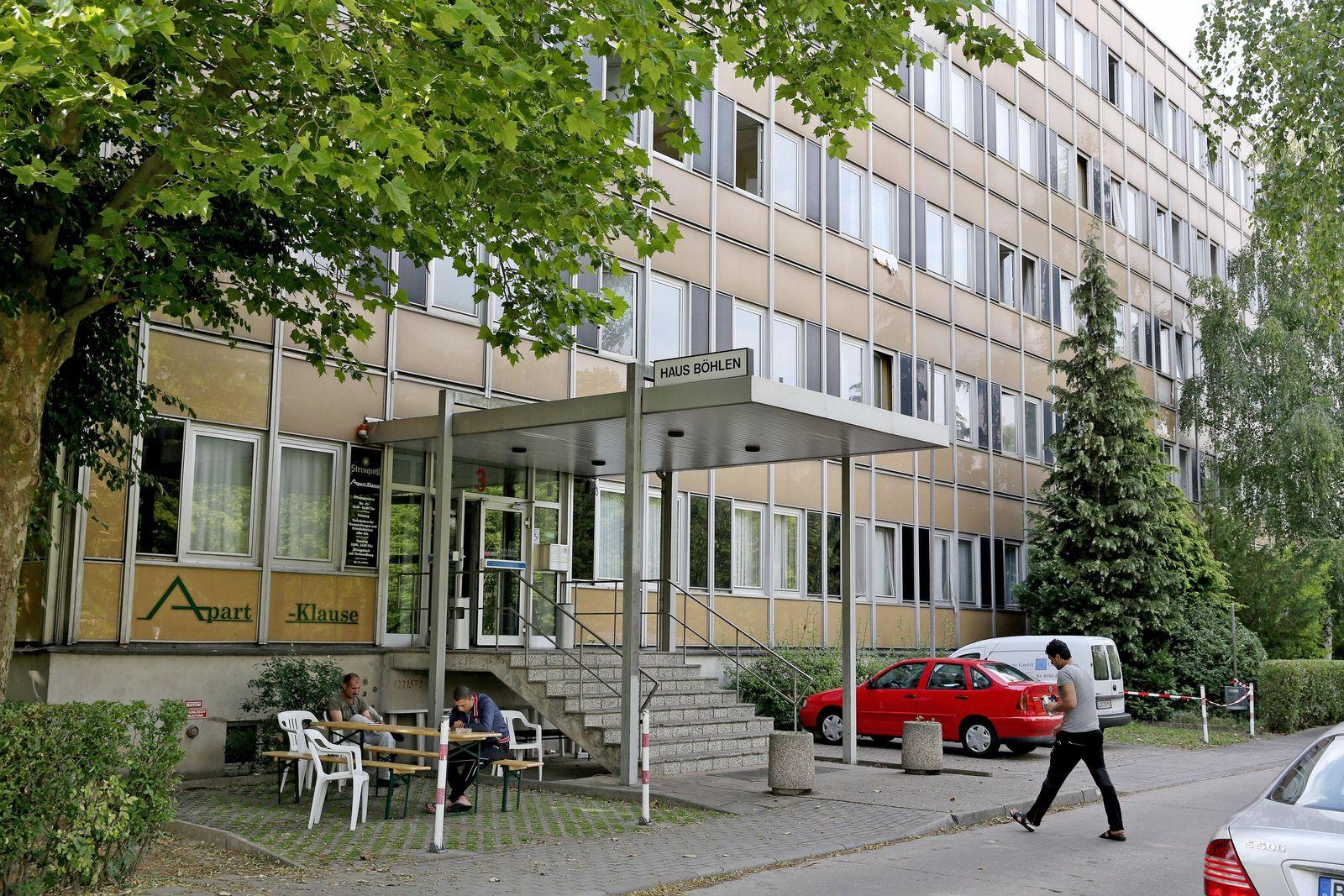 Leipzig/ Böhlen/ Flüchtlingsheim/ Schüsse