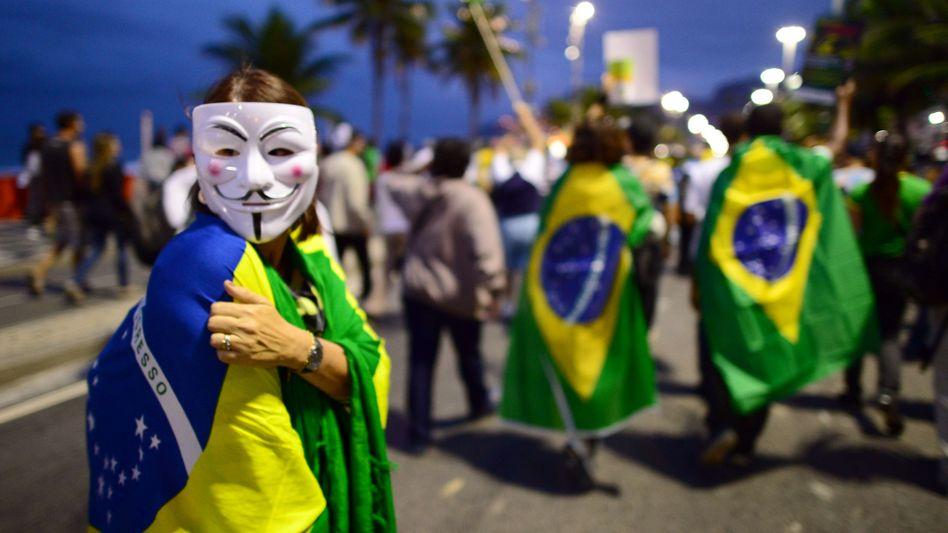 """Massenproteste im Gastgeberland: """"Es gibt keinen Plan B"""""""