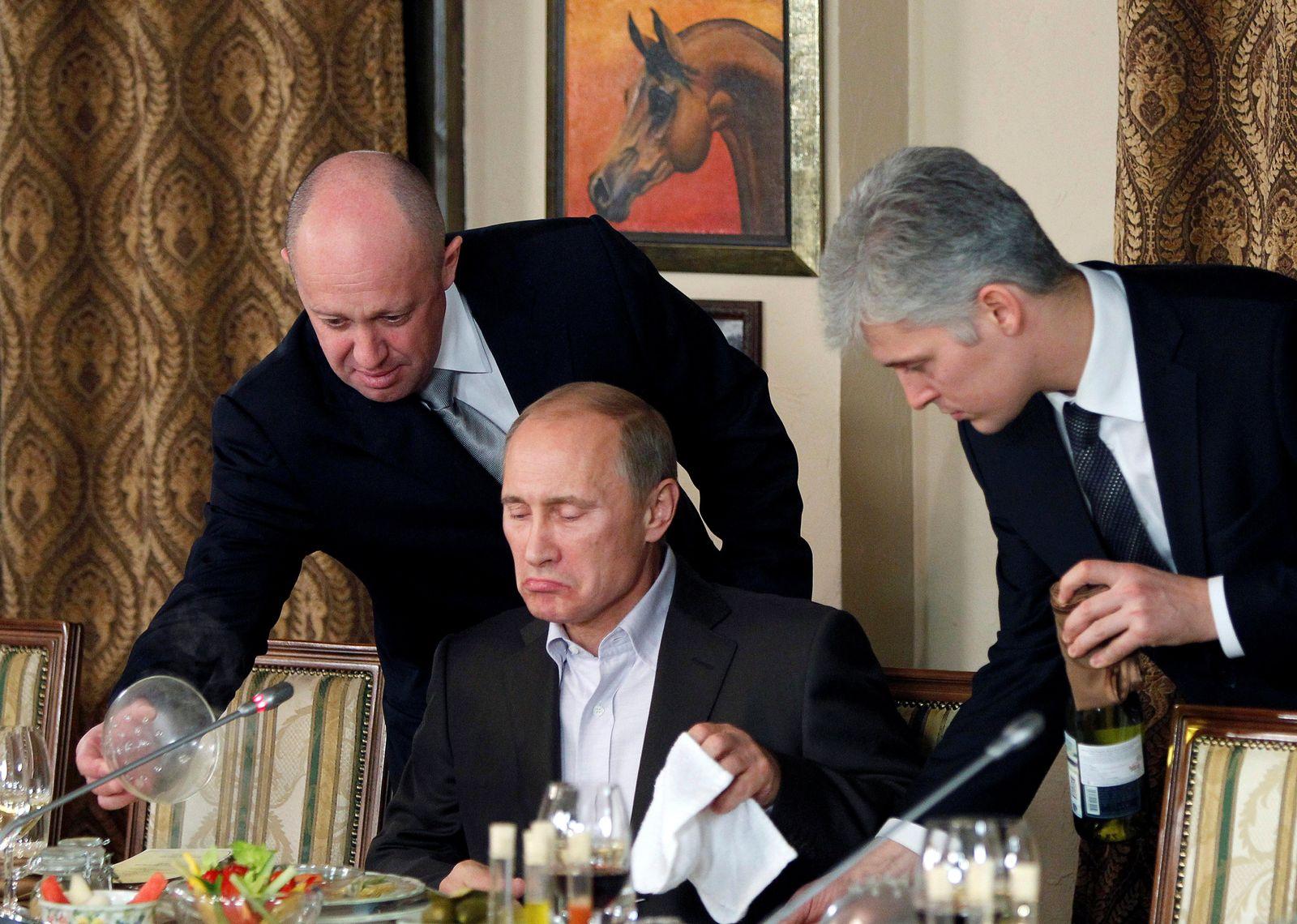 Prigoschin Putin