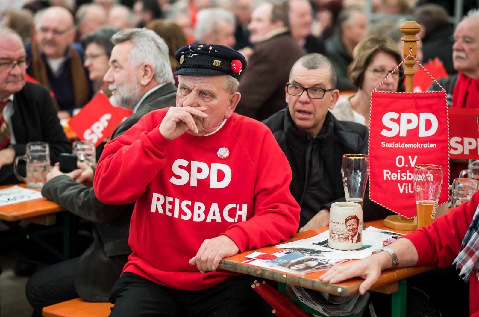 SPD/ alte/ ältere Mitglieder