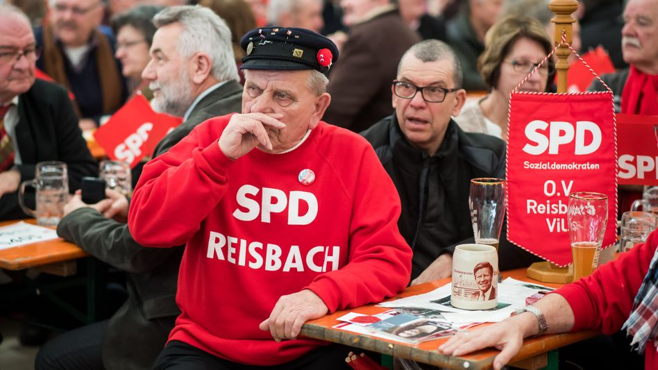 Älteres SPD-Mitglied