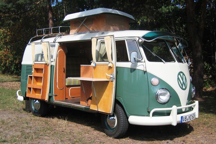 Mit der Campingvariante von Westfalia wurde der VW-Bus endgültig zum Bestseller