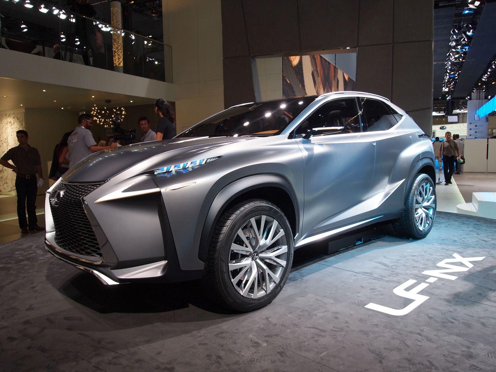 2013/ Blog/ IAA/ SUV-Modell/ Lexus LF-NX