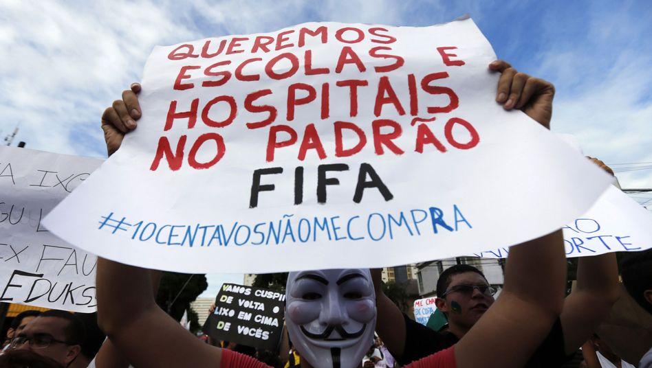 Proteste in Brasilien: Wir sind das Fußball-Volk!