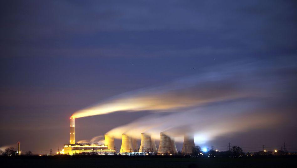 Kohlekraftwerk (in Großbritannien): IPCC-Klimareport vorzeitig veröffentlicht