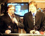 Ausgezeichnete Fußball-Experten: Günter Netzer (l.) und Gerhard Delling