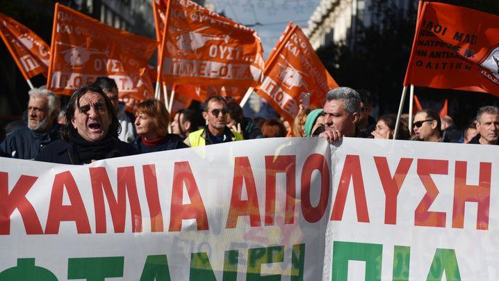 Finanzkrise: Griechenland zwischen Wut und Hoffnung