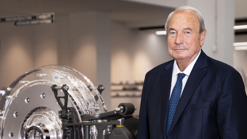 Heinz Hermann Thiele im Juni 2020: Patriarch und Seldmademilliardär