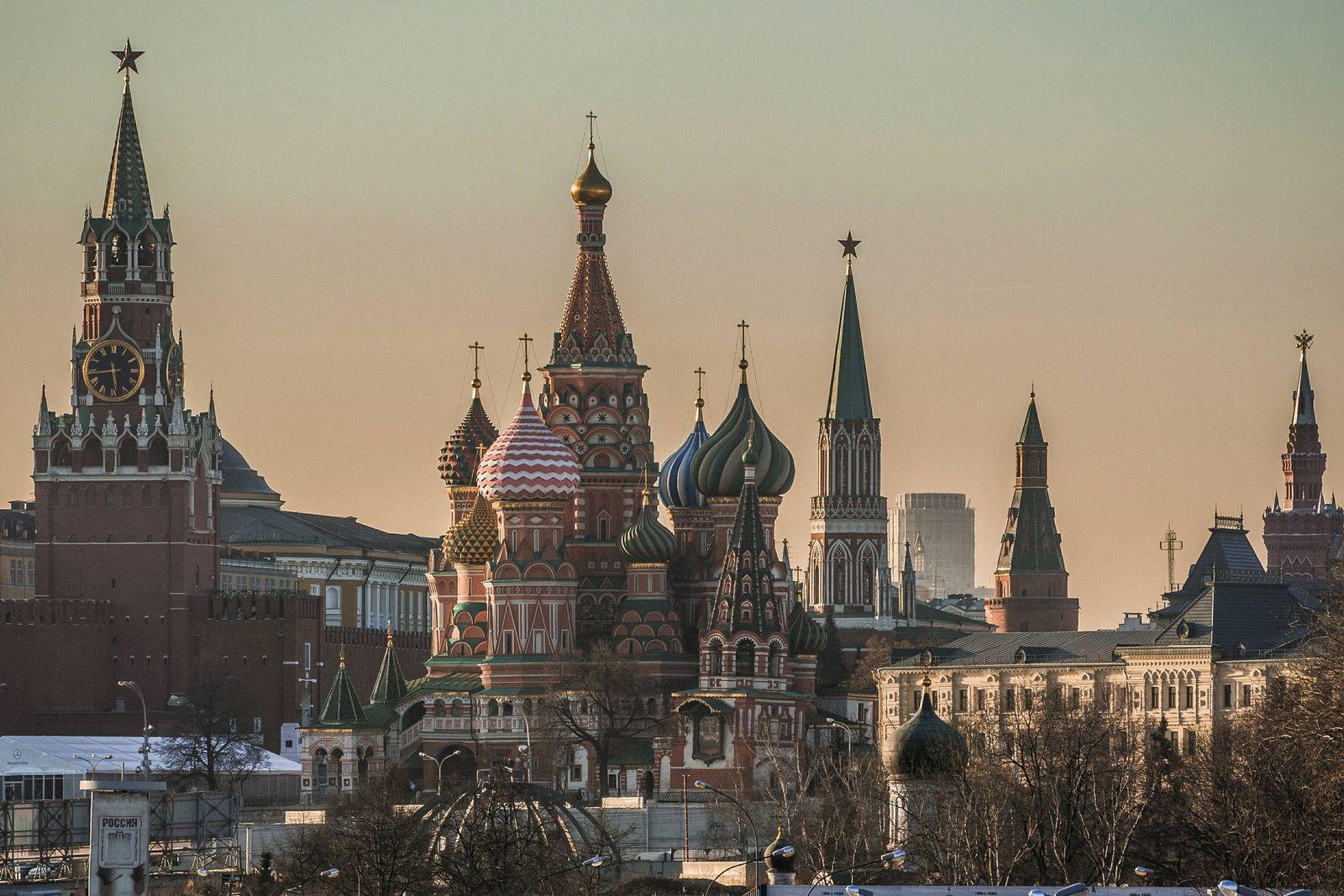 EINMALIGE VERWENDUNG Kreml