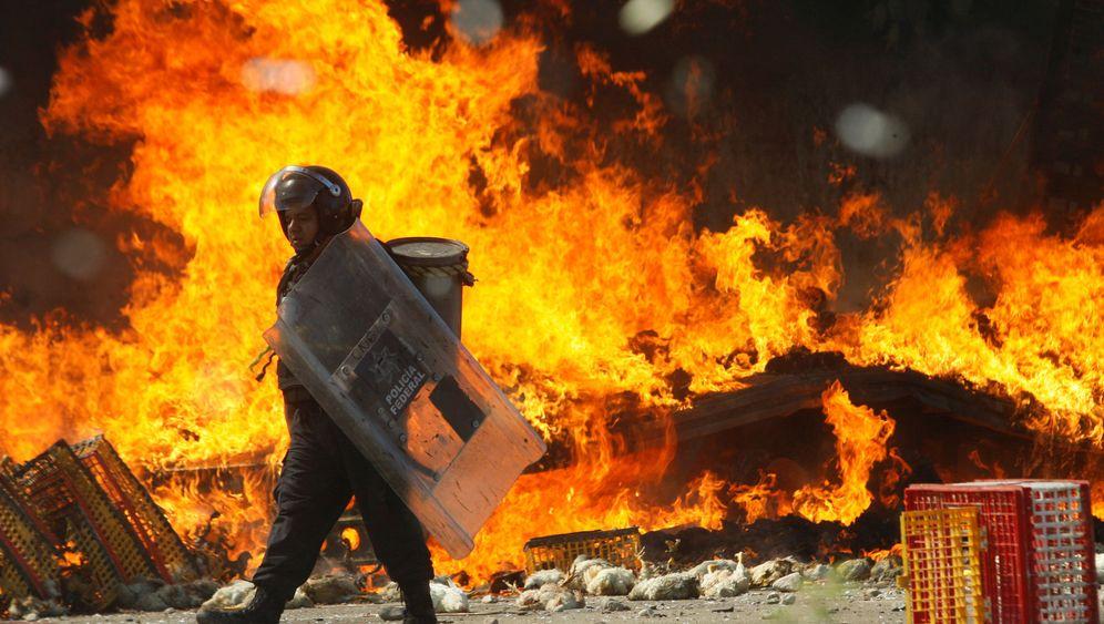 Proteste in Mexiko: Wenn Lehrer zu Steinewerfern werden