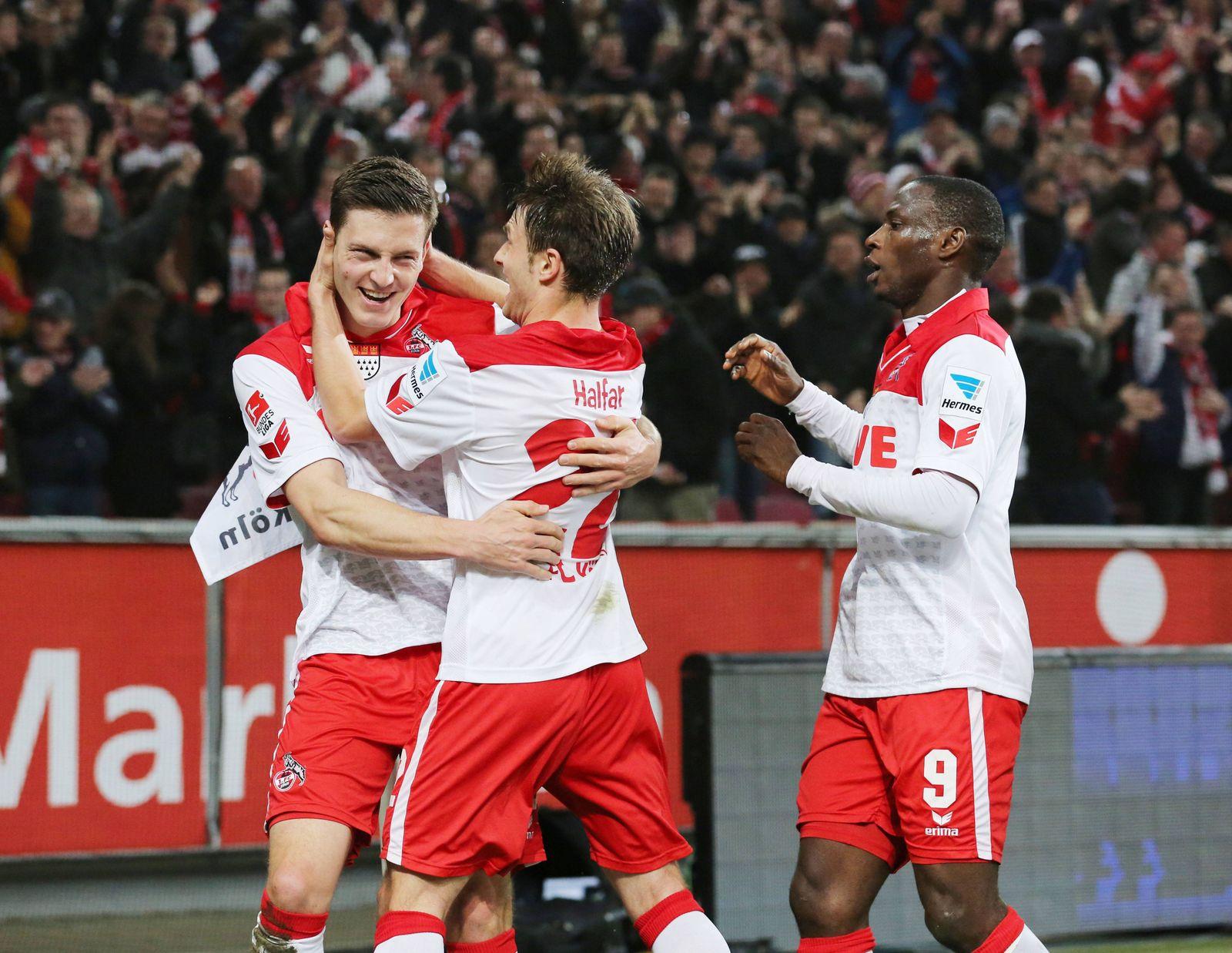 EINMALIGE VERWENDUNG 1. FC Köln - Greuter Fürth