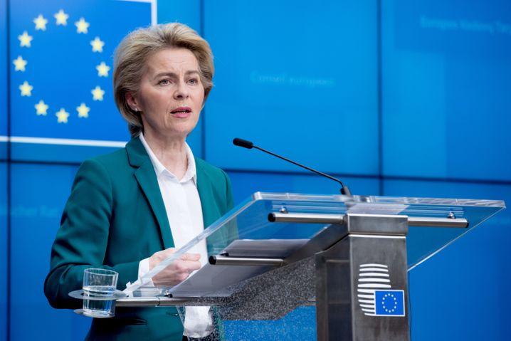 EU-Kommissionspräsidentin von der Leyen (2020): Vorstellung des Green Deal