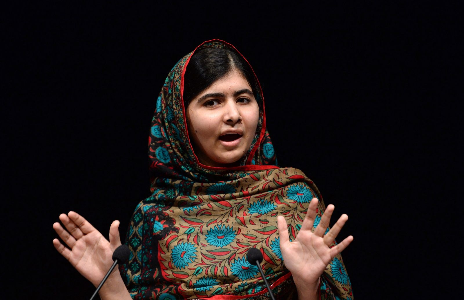 Malala Yousafzai wins the Nobel Peace prize.