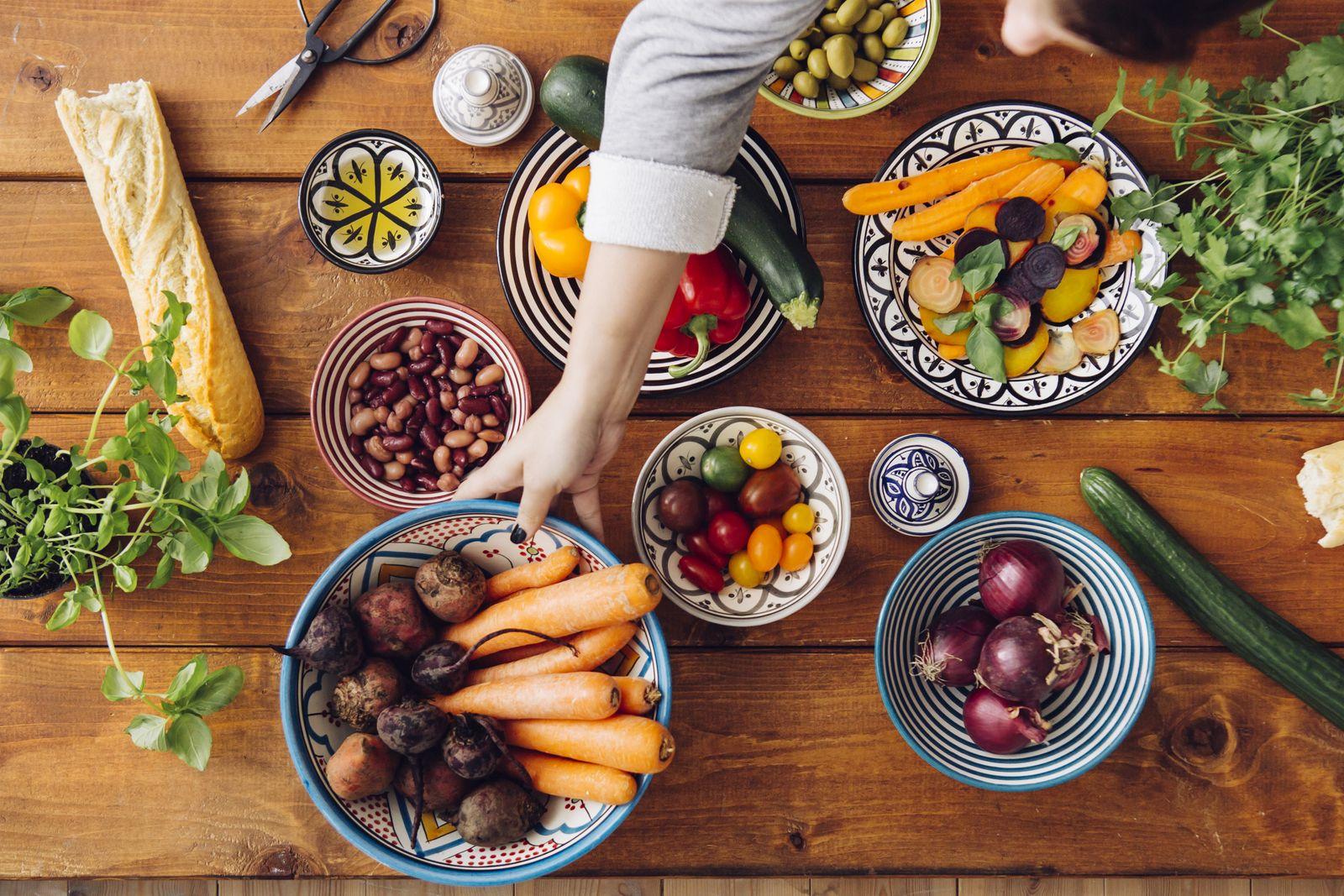 EINMALIGE VERWENDUNG Gesund Essen