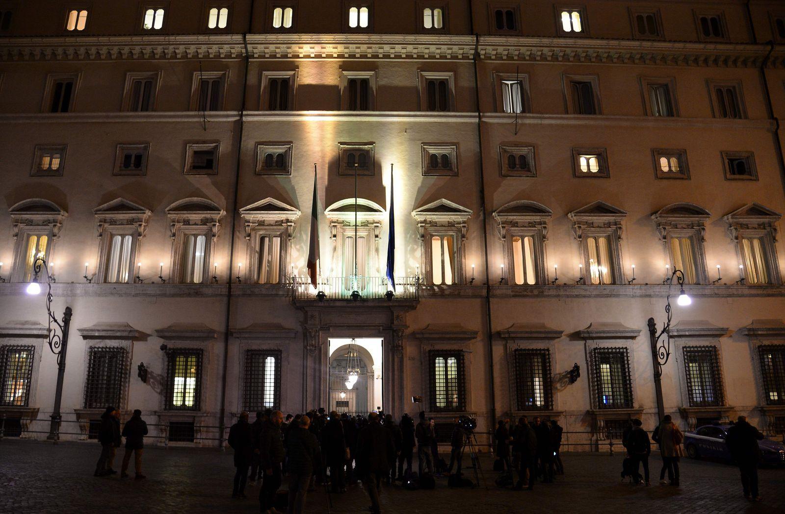 Mattarellas Präsidentenpalast, Italien