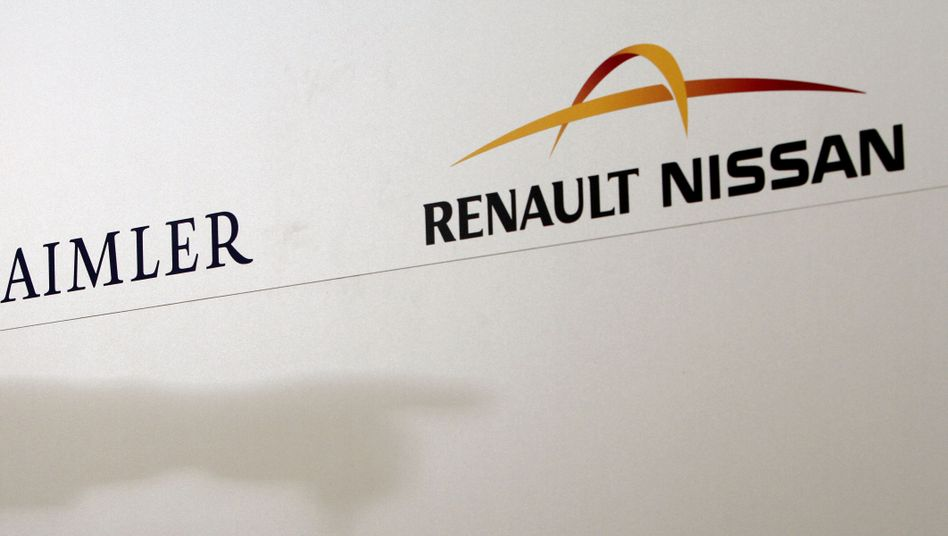 Unequal partners: Critics are asking how much Nicolas Sarkozy will be inside the tie-up between Germany's Daimler and the French-led Renault-Nissan alliance?