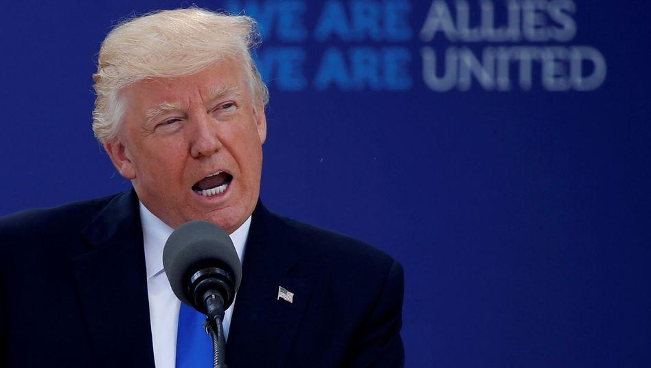 Donald Trump bei der Nato (2017)