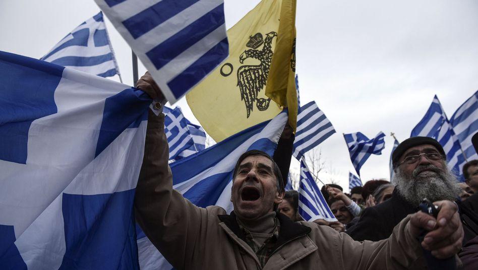 Proteste in Thessaloniki