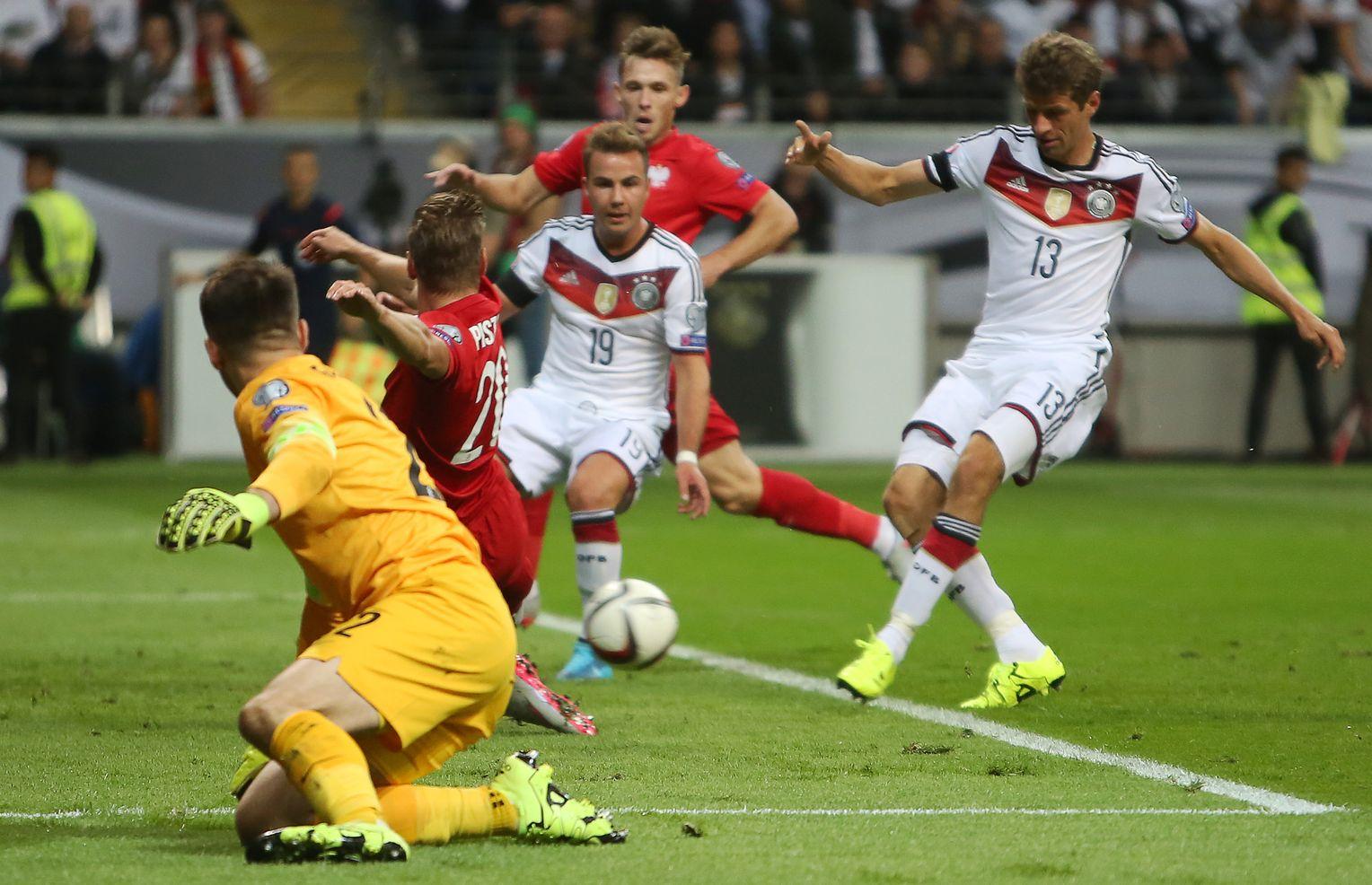 Polen Vs Deutschland Em Quali