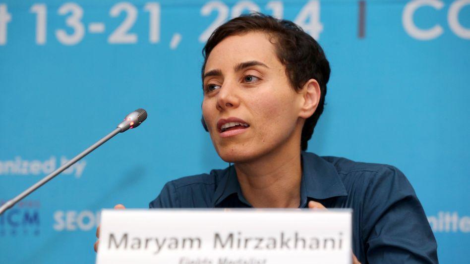 Maryam Mirzakhani im Jahr 2014