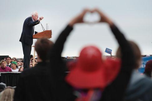 Bernie Sanders in San Francisco