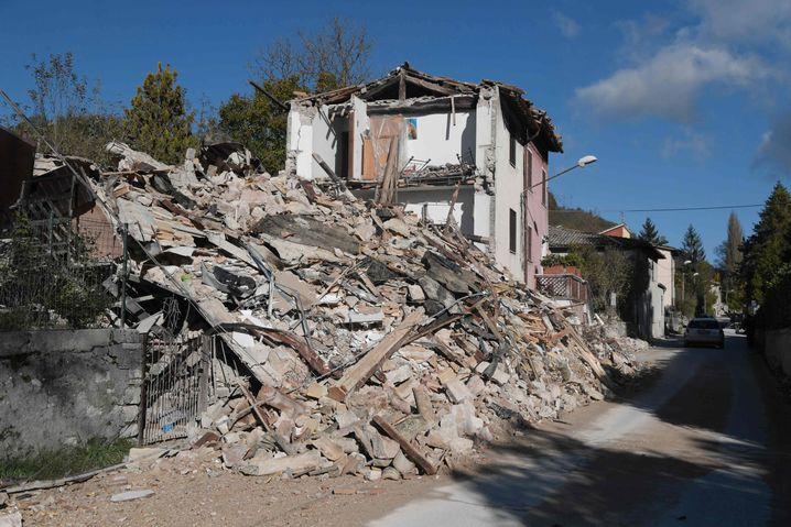 Nur noch Schutt: Haus in Borgo Sant'Antonio