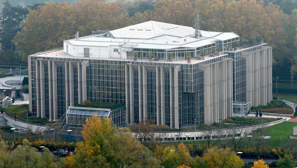 Interpol-Zentrale in Lyon