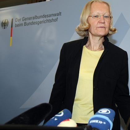 """Generalbundesanwältin Monika Harms: """"Gute Gründe für die Razzien"""""""