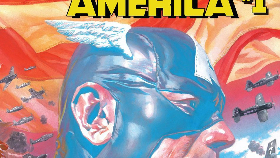 """Captain America"" #1 mit Cover von Alex Ross"