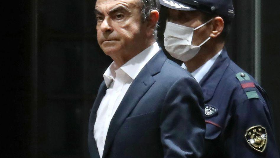 Ex-Nissan-Chef Carlos Ghosn (Archivfoto)