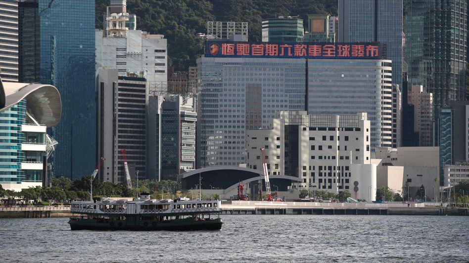Evergrande-Gebäude in Hongkong