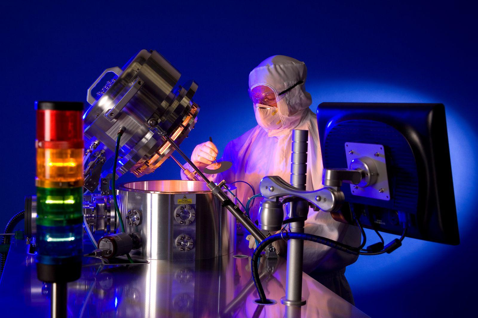 EINMALIGE VERWENDUNG Surrey Nanosystems / Labor