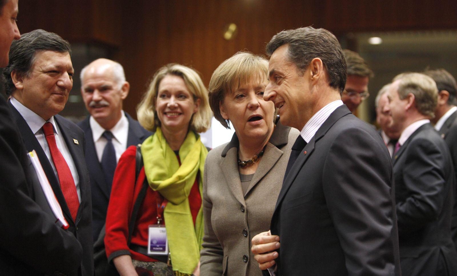 Merkel / Sarkozy / Barroso / Papandreou