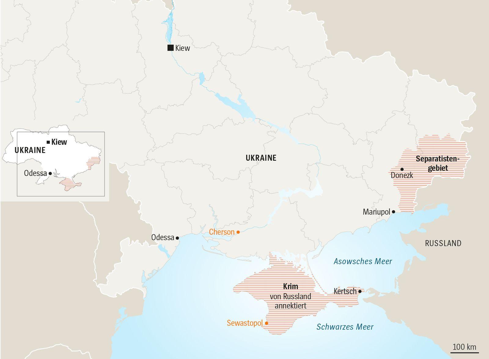 Karte Ukraine Serie Präsidentschaftswahl V3 Tag 2