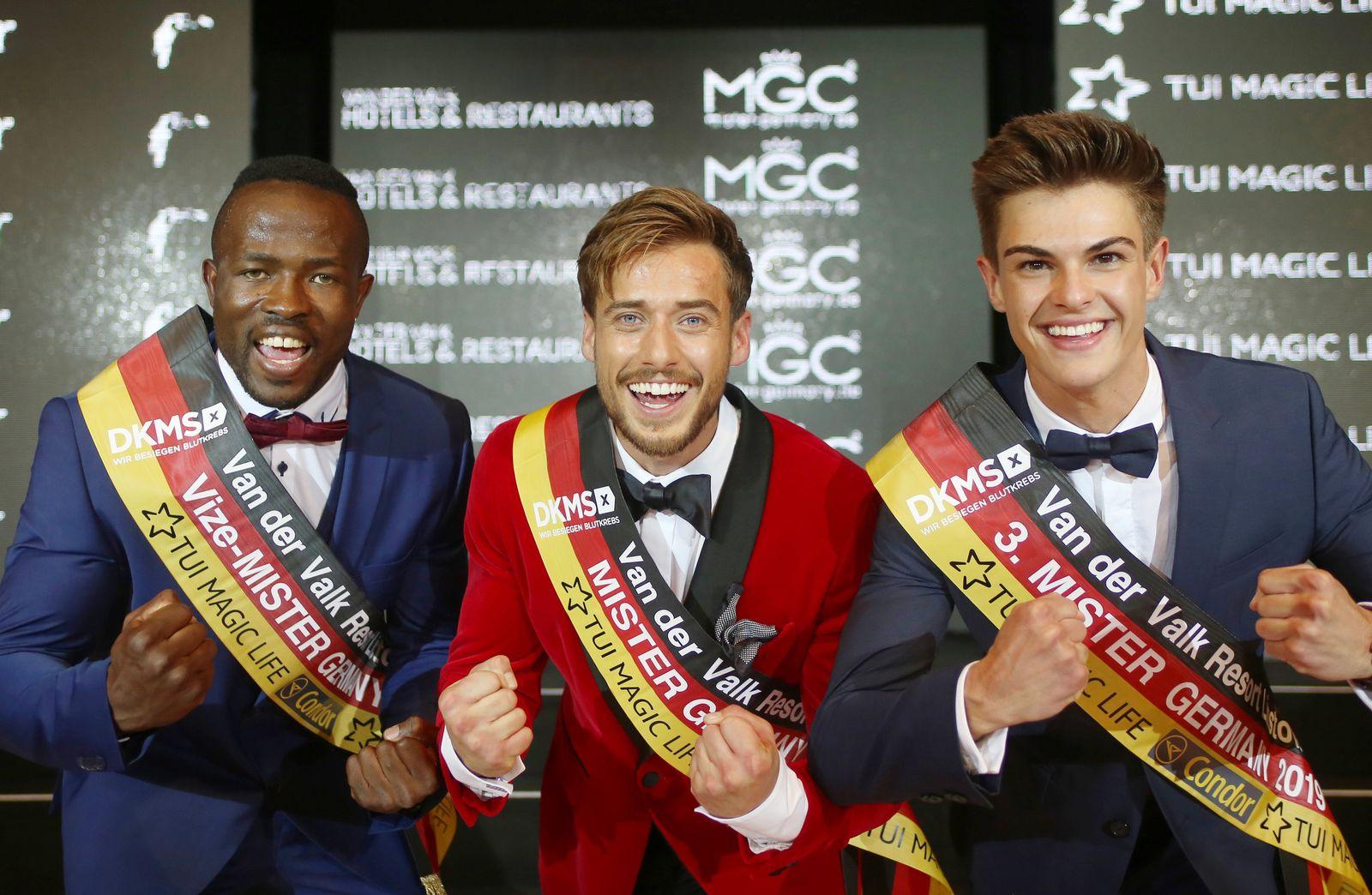Wahl von Mister Germany 2019