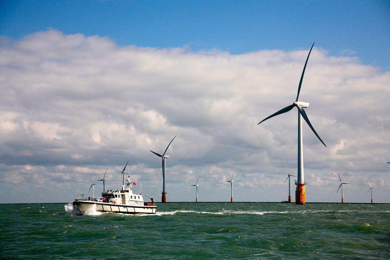 EINMALIGE VERWENDUNG Thanet Offshore Windpark